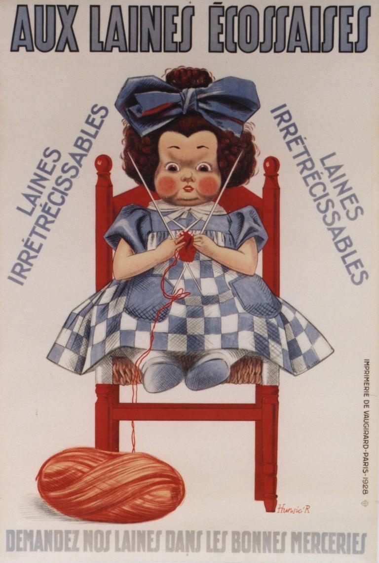 R .Hurwic Figurative Print - Aux Lainnes Ecossaises