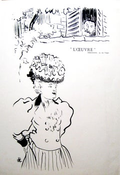 L'Ouvre. La Brebis; La Tandem. [proof before lettering] May 29 1896.