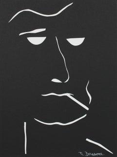 """The Moderns VIII"" Monochromatic Portrait Collage, 2018"
