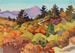 """Palmer Park, Colorado"" Watercolor Landscape Painting"