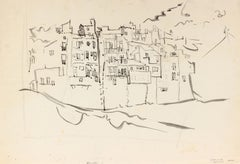 """1950's """"Villasoyosa"""" Scenic Cityscape of Spain"""