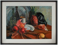 Modernist Fruit Still Life 1943-46 Oil