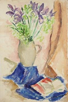 California Expressionist Still Life 1940-50s