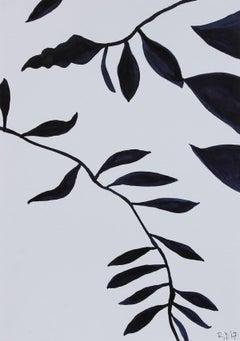 """""""Botanicals of Orquevaux VI"""" 2017 Ink & Graphite"""
