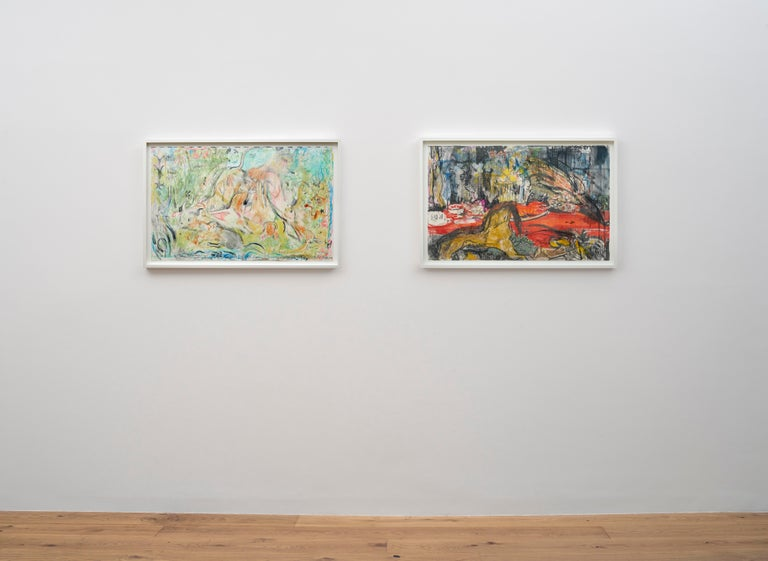 Untitled (The Calls of the Hunting Hom) - Art by Cecily Brown