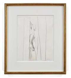 Shower Study II, 20th Century, David Hockney, Drawing, Modern British