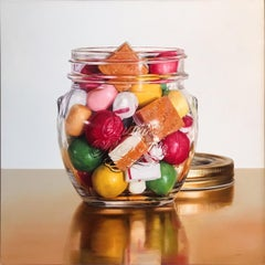 "Jesus Navarro, ""Sweet Temptations"", Oil on Canvas, 2018"