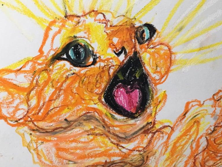 Simone Gad Animal Art - Chat Marmalade
