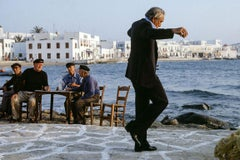Anthony Quinn, Onassis, The Greek Tycoon, Mykonos, Greece