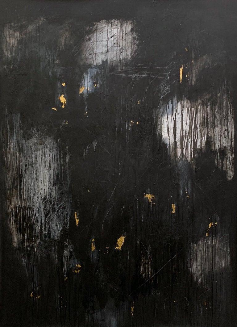 Devon Farber Figurative Painting - Shadow & Fog IV
