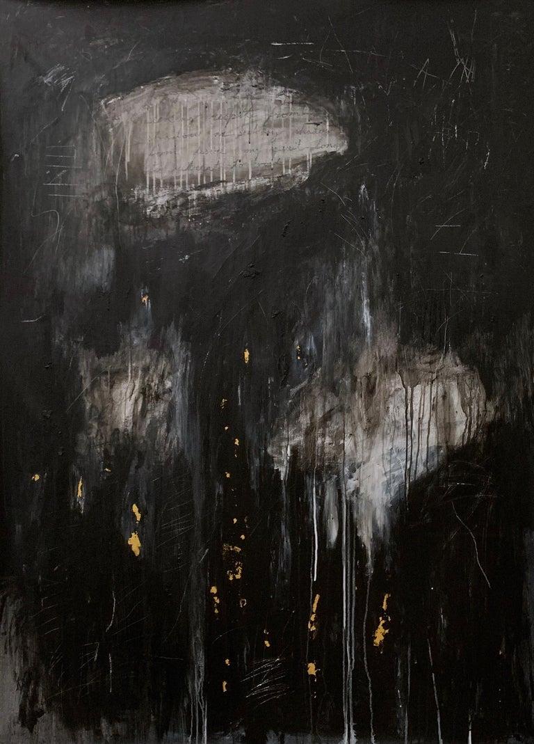 Devon Farber Figurative Painting - Shadow & Fog V