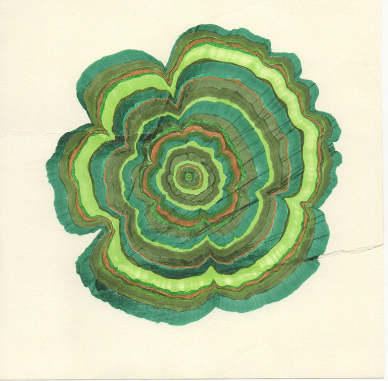 46 Years (Tree Rings Series) - Art by Steven L. Anderson
