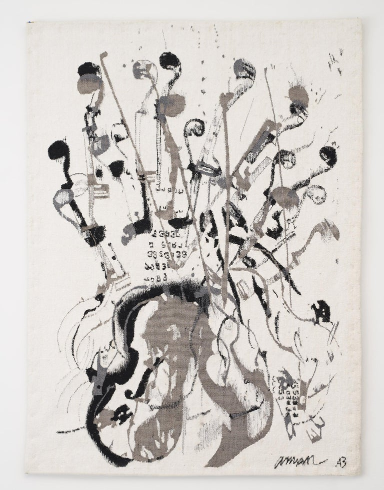 Fernandez Arman Figurative Painting - Trio a cordes II