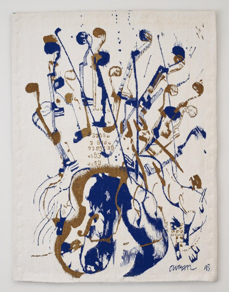 Fernandez Arman Figurative Painting - Trio a cordes I