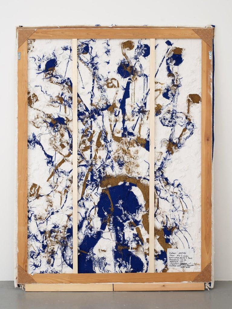 Trio a cordes I                   - Painting by Fernandez Arman