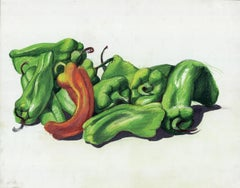Orange and Green Peppers