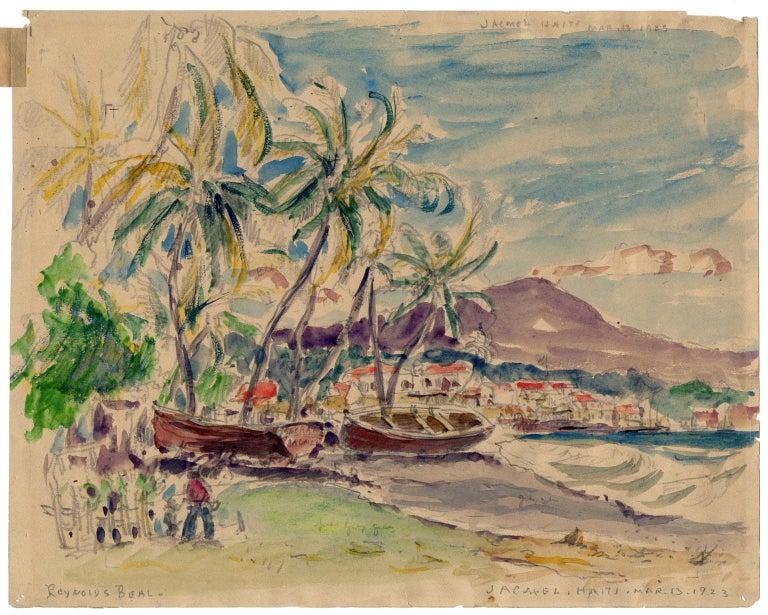 Jacmel, Haiti, Mar. 13, 1923. - Art by Reynolds Beal
