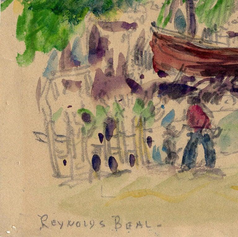 Jacmel, Haiti, Mar. 13, 1923. - American Impressionist Art by Reynolds Beal