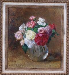 {Bouquet de roses}