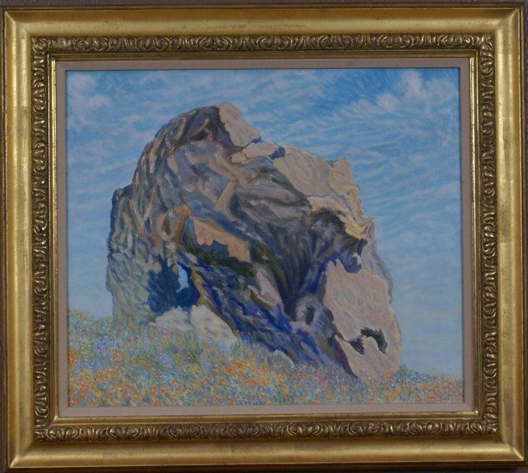 Freeman Baldridge Portrait Painting - Portrait of a Rock