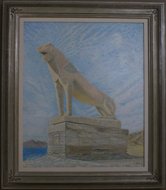 Lion of Delos