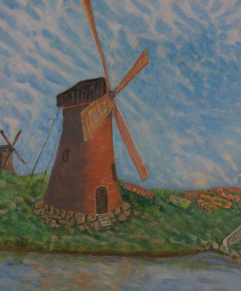 Windshear - Realist Painting by Freeman Baldridge