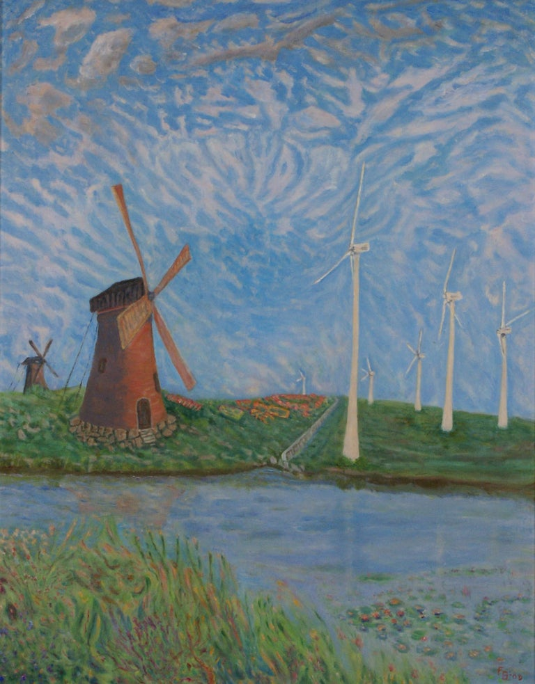 Windshear - Painting by Freeman Baldridge