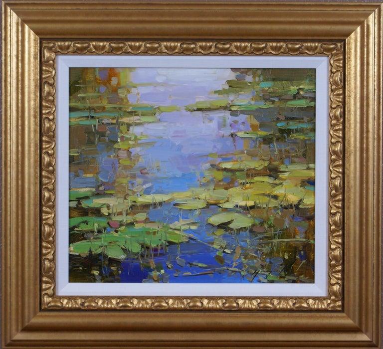 Vahe Yeremyan Landscape Painting - Water Lilies Pond