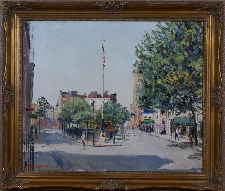 Peter Hayward Landscape Painting - Sheridan Square