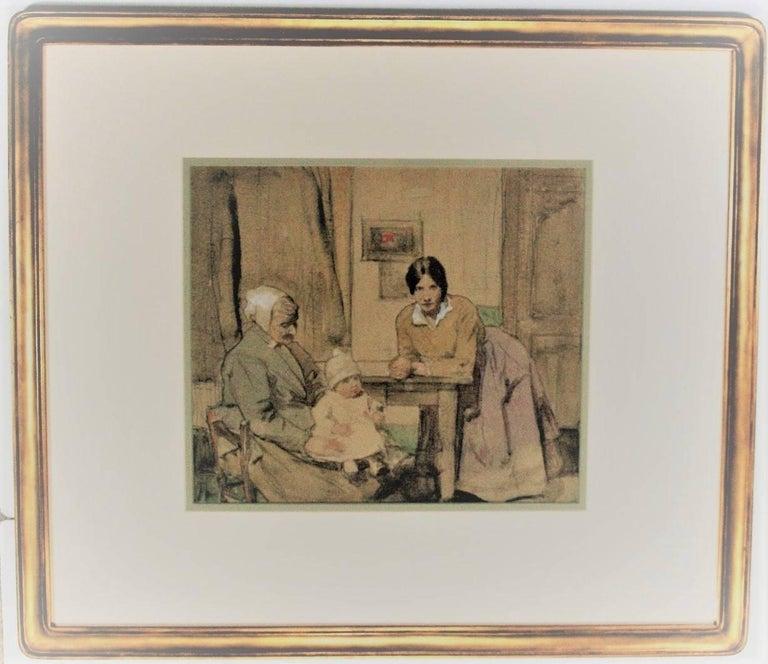 William Lee Hankey Portrait - Three Generations.