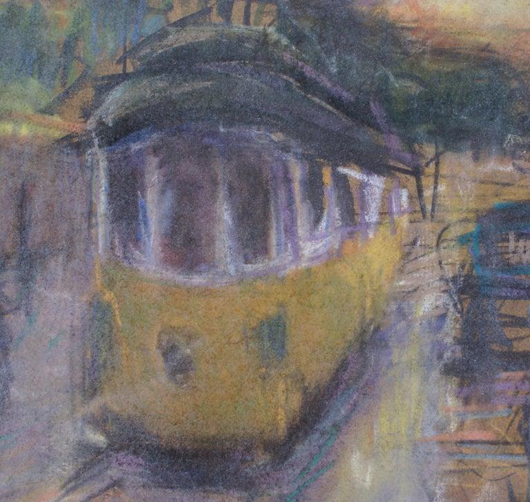 Along the Avenue - Abstract Impressionist Art by Ruben Gelardi