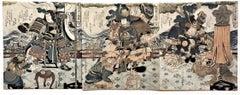 "Buyu sanban tsuzuki, ""Three Examples of Martial Bravery."