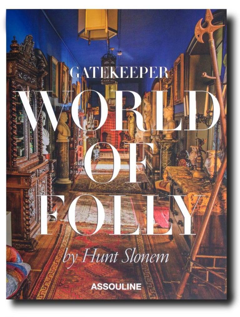 "Hunt Slonem Color Photograph - ""Gatekeeper: World of Folly"" Hardcover Book"