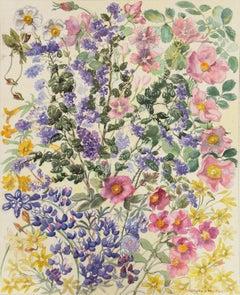 'Spring Flowers', Kansas, Carmel Art Association, Pratt Institute, AIC, ASL
