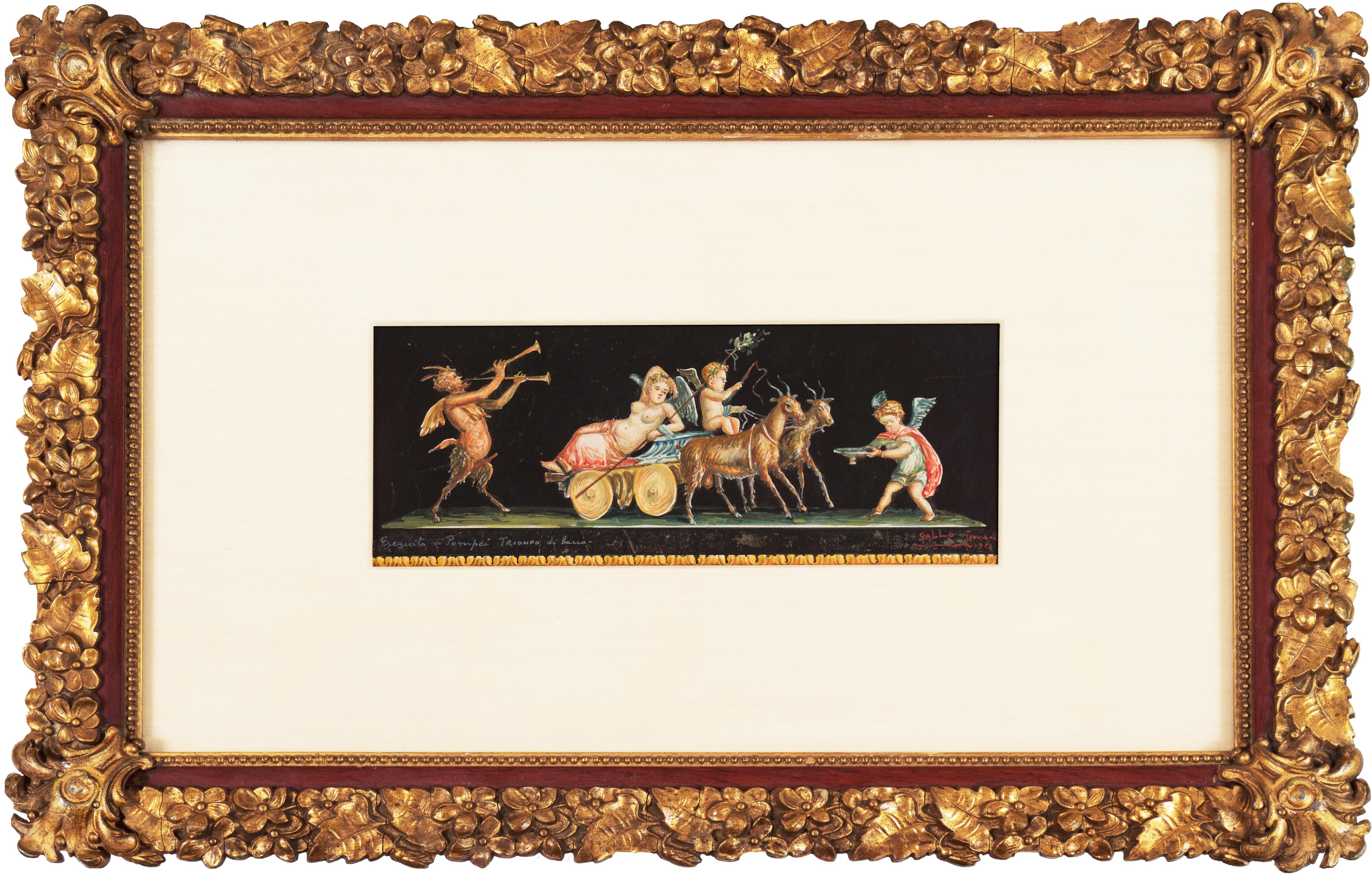 'Bacchanal', Mid-century Pompeii, Roman Mythology, Bacchus, Neo-classical