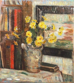 'Yellow Daisies', Danish Impressionist, Charlottenborg Institute, Paris, London