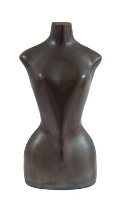 Mid-Century Bronze Sculpture of a Female Torso