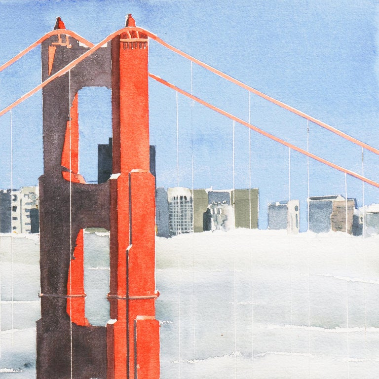 'San Francisco Golden Gate Bridge', California Architecture For Sale 1