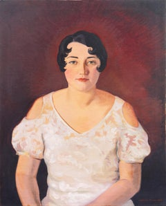 'Portrait of a Woman' Early California Woman, Art Institute of Chicago, Art Deco