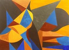 'Geometric II', Bay Area Abstraction, San Francisco Art Institute, Woman Artist