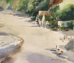 'Windsurfers at Laguna Beach', National Academy, National Watercolor Society