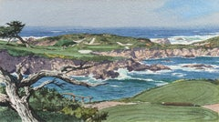 Playing the 16th Hole, Cypress Point