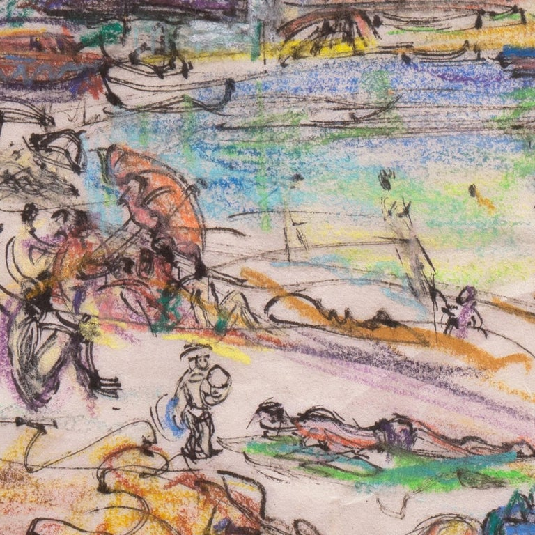 Post Impressionist California Artist 'The Cote d'Azur', Paris, Salon d'Automne  For Sale 5