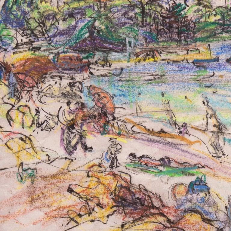 Post Impressionist California Artist 'The Cote d'Azur', Paris, Salon d'Automne  For Sale 3