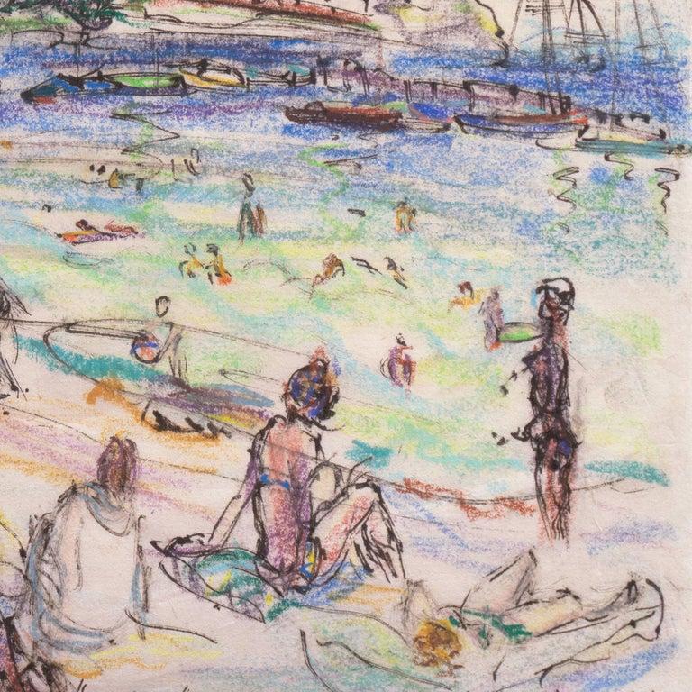 Post Impressionist California Artist 'The Cote d'Azur', Paris, Salon d'Automne  For Sale 7