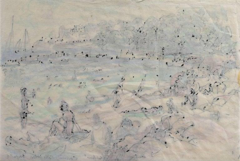 Post Impressionist California Artist 'The Cote d'Azur', Paris, Salon d'Automne  For Sale 8