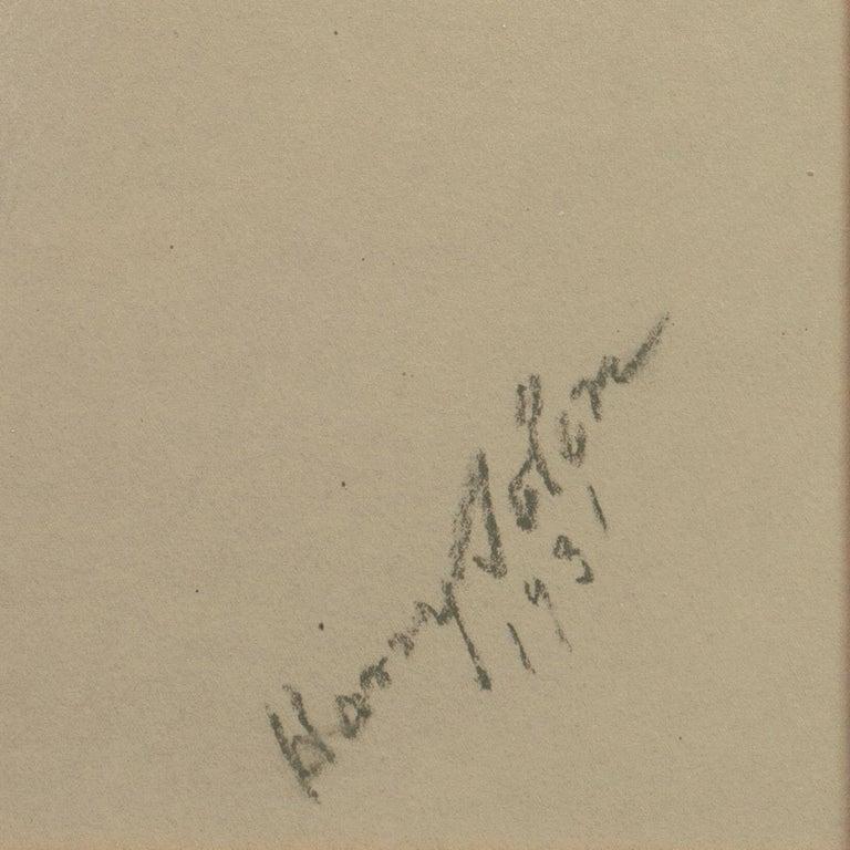 Early 20th century Portrait Study, 'Mrs. Washburne', Washington Socialite For Sale 1