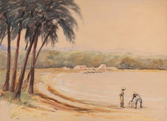 Tropical Coastal Scene
