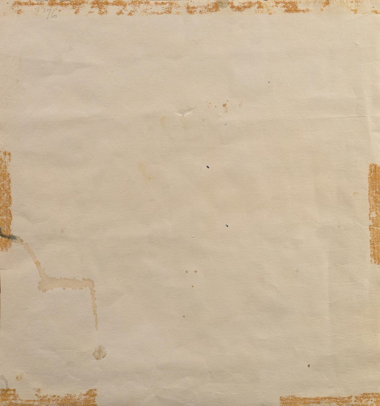 'Village in Tuscany', California Modernist woman artist, SFAA For Sale 4