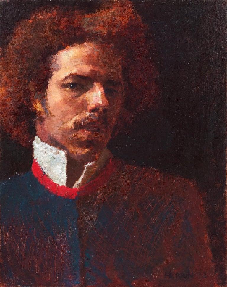 Douglas Ferrin Portrait Painting - Self Portrait, 1982